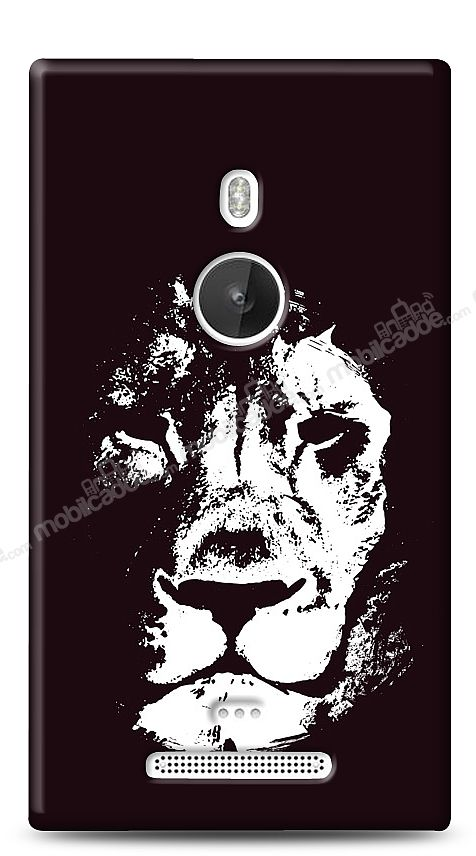 Nokia Lumia 925 Black Lion Kılıf