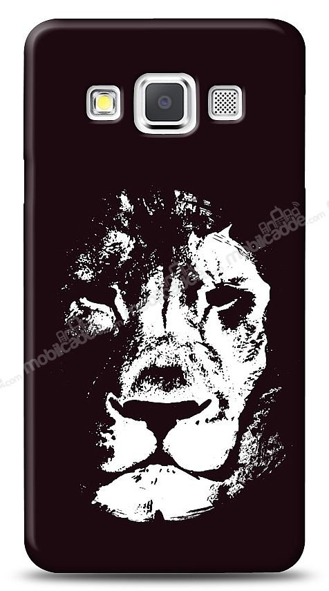 Samsung Galaxy A3 Black Lion Kılıf