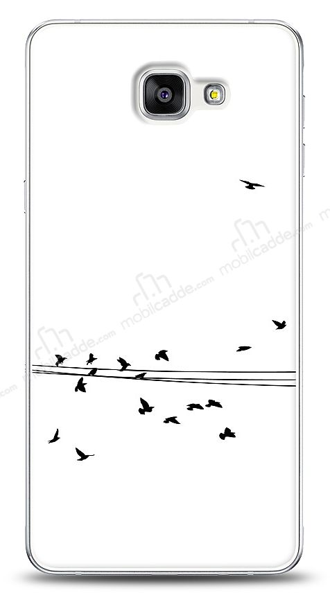 Samsung Galaxy A9 Flying Birds Kılıf