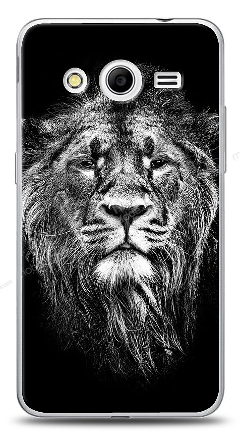 Samsung Galaxy Core 2 Black Lion Kılıf