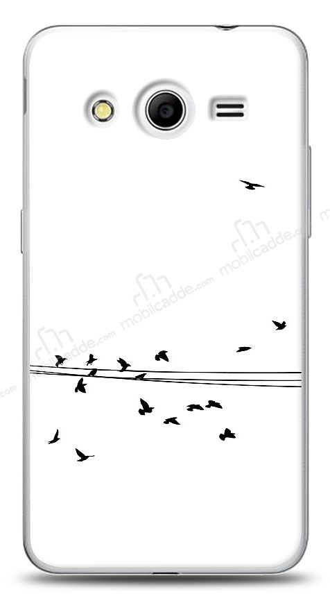 Samsung Galaxy Core 2 Flying Birds Kılıf