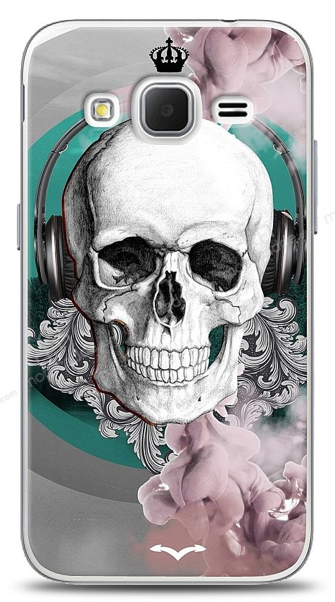 Samsung Galaxy Core Prime Lovely Skull Kılıf