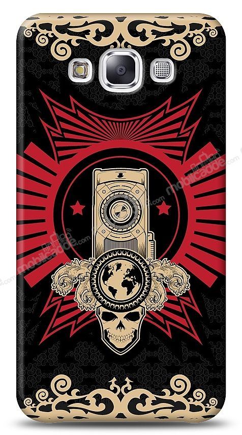 Samsung Galaxy E5 Skull Nation Kılıf