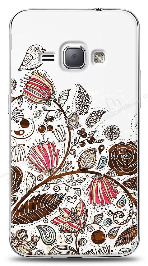 Samsung Galaxy J1 2016 Draw Bird Kılıf