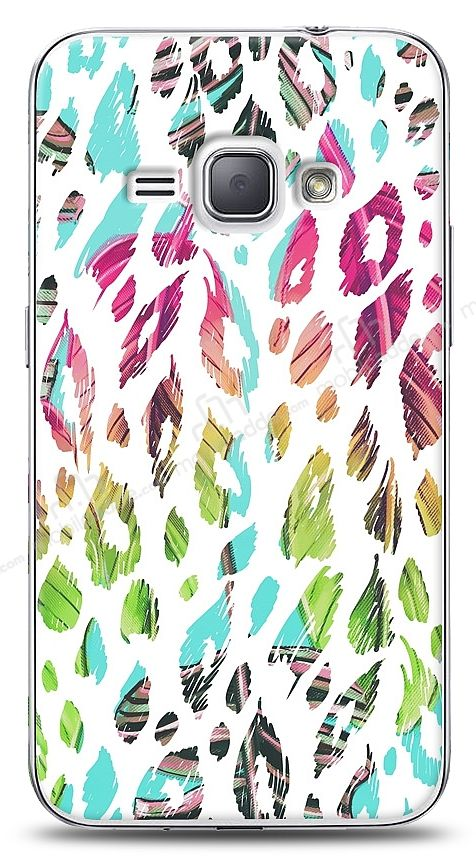 Samsung Galaxy J1 2016 Fashion Leopard Kılıf