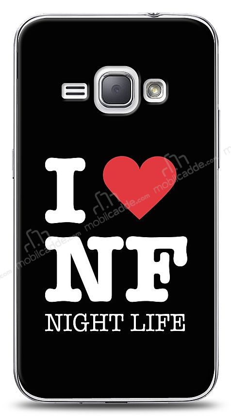 Samsung Galaxy J1 2016 I Love Night Life Kılıf