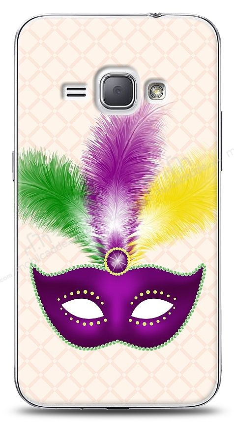 Samsung Galaxy J1 2016 Purple Mask 2 Kılıf