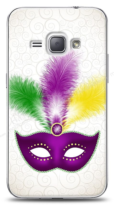 Samsung Galaxy J1 2016 Purple Mask Kılıf