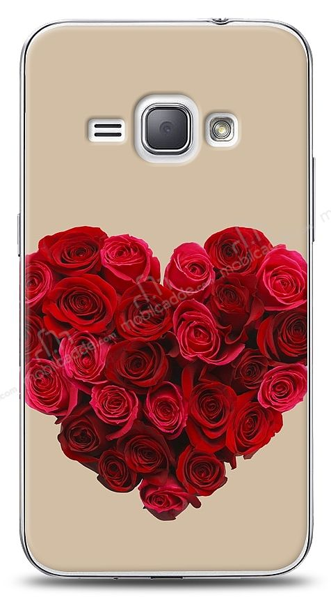 Samsung Galaxy J1 2016 Rose Love 3 Kılıf