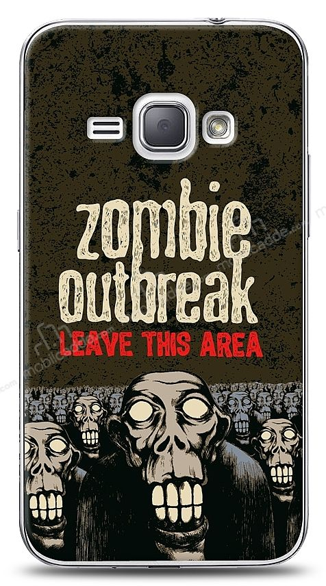 Samsung Galaxy J1 2016 Zombie Break Kılıf