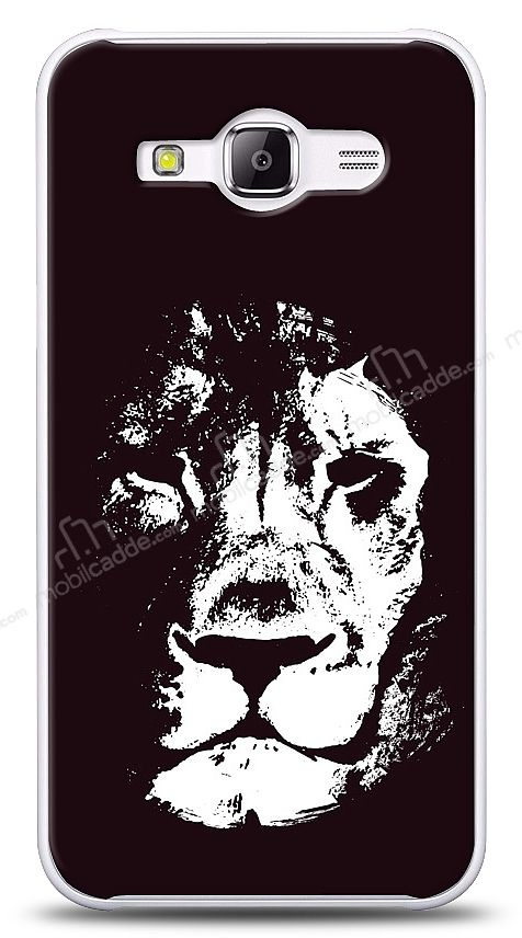 Samsung Galaxy J1 Ace Black Lion Kılıf