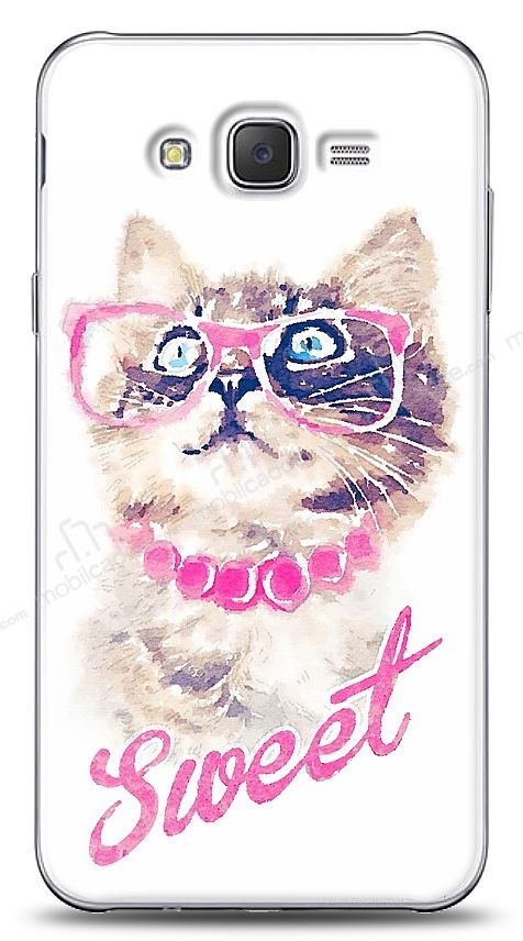 Samsung Galaxy J2 Sweet Cat Kılıf