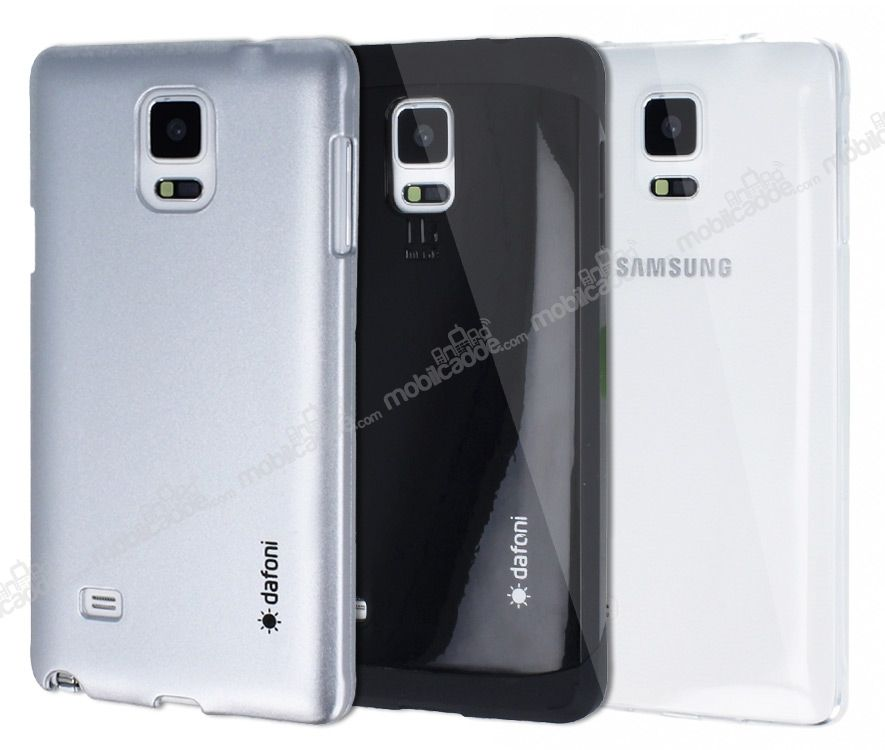 Dafoni Samsung Galaxy Note 4 For Men 3'ü Bir Arada Kılıf Seti