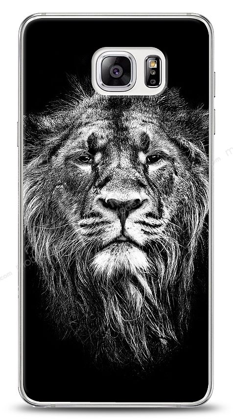 Samsung Galaxy Note 5 Black Lion Kılıf
