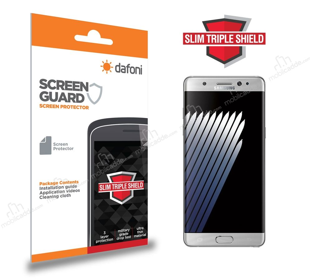 Dafoni Samsung Galaxy Note FE Slim Triple Shield Ekran Koruyucu