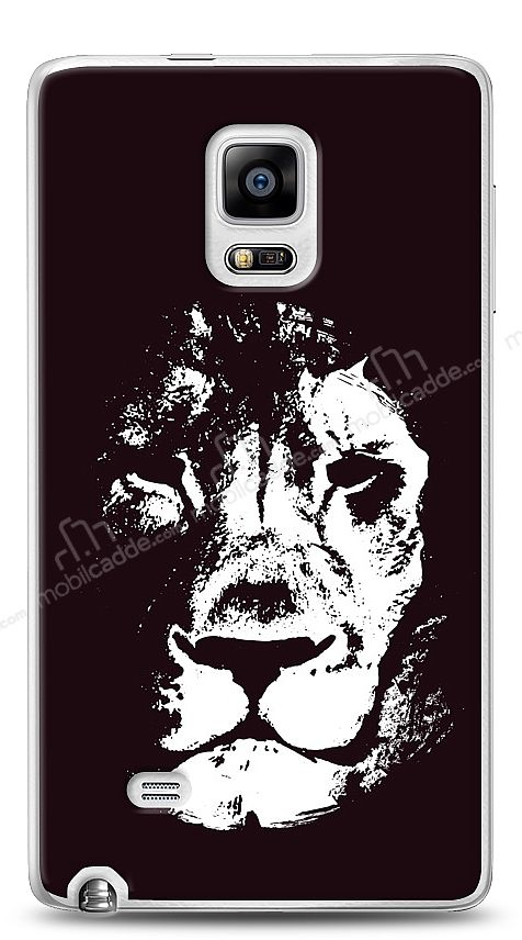 Samsung Galaxy Note Edge Black Lion Kılıf