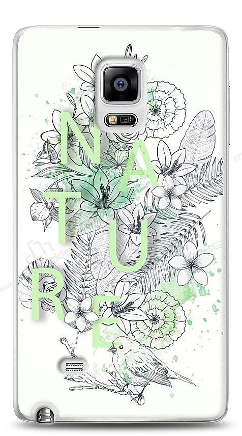 Samsung Galaxy Note Edge Nature Flower Kılıf