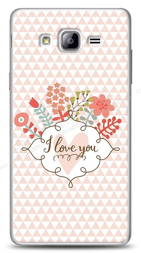 Samsung Galaxy On7 I Love You Kılıf