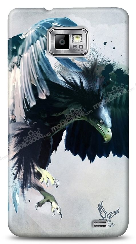 Samsung Galaxy S2 Black Eagle Kılıf