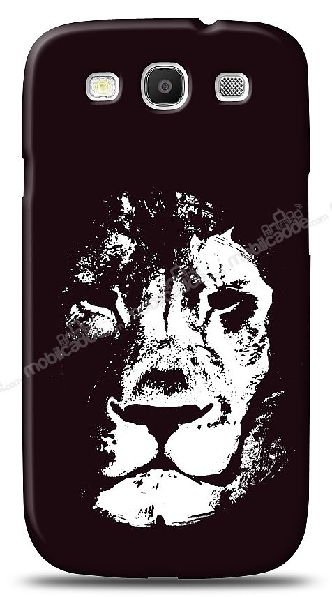 Samsung Galaxy S3 Black Lion Kılıf
