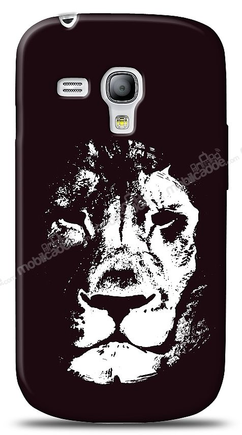 Samsung Galaxy S3 mini Black Lion Kılıf