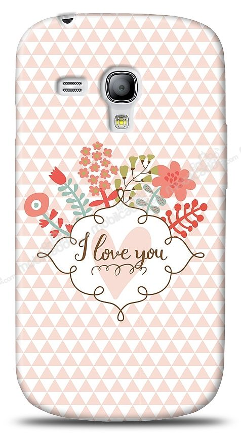 Samsung Galaxy S3 mini I Love You Kılıf