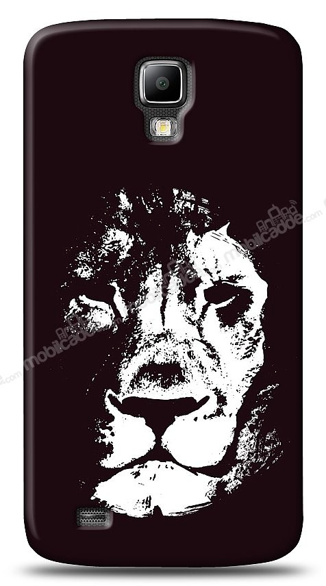 Samsung Galaxy S4 Active Black Lion Kılıf