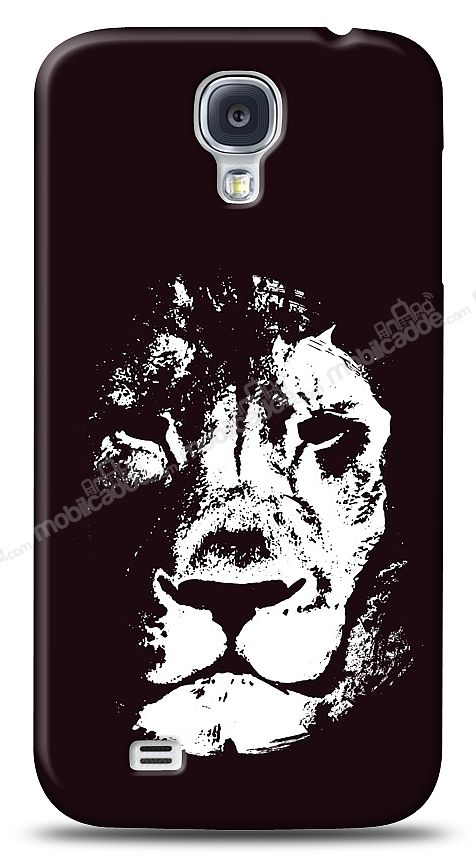 Samsung Galaxy S4 Black Lion Kılıf