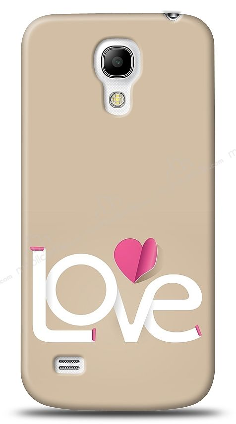 Samsung Galaxy S4 mini Love Bottom Kılıf