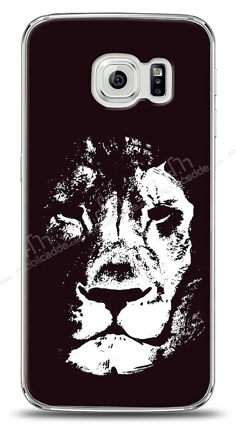 Samsung Galaxy S6 edge Black Lion Kılıf
