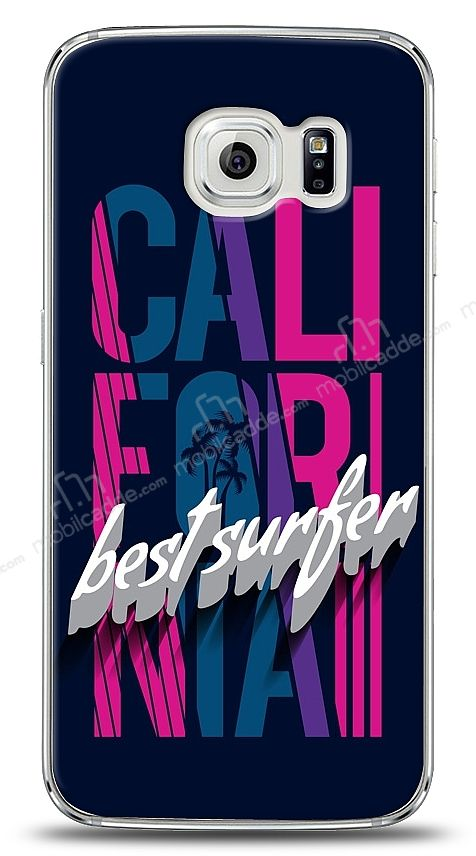 Samsung Galaxy S6 edge California Surfer Kılıf