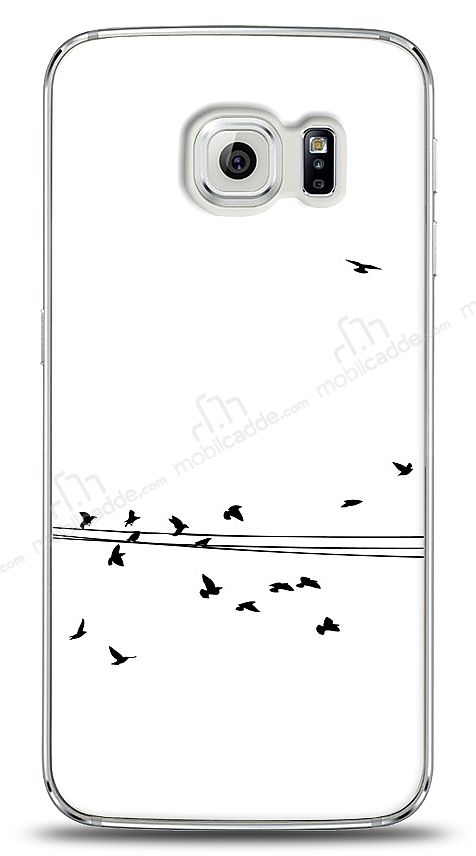 Samsung Galaxy S6 edge Flying Birds Kılıf