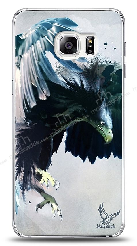 Samsung Galaxy S6 Edge Plus Black Eagle Kılıf