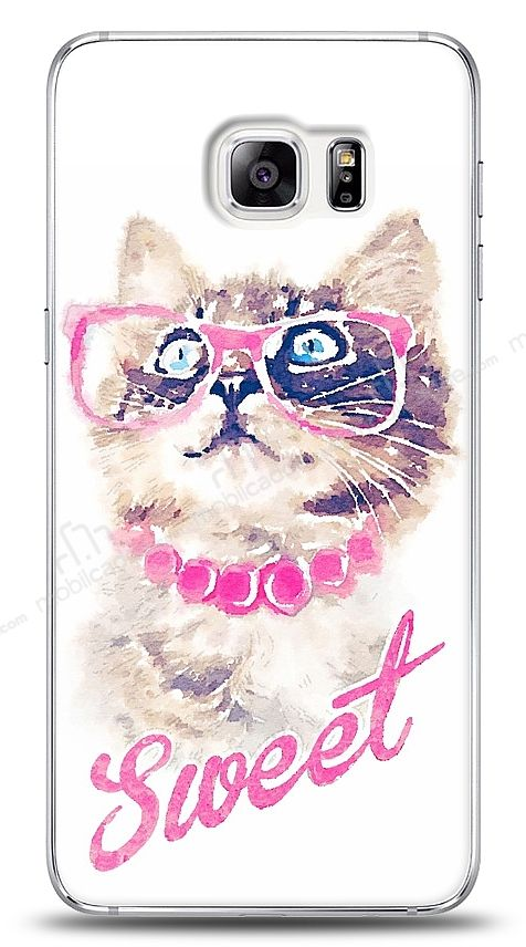 Samsung Galaxy S6 Edge Plus Sweet Cat Kılıf