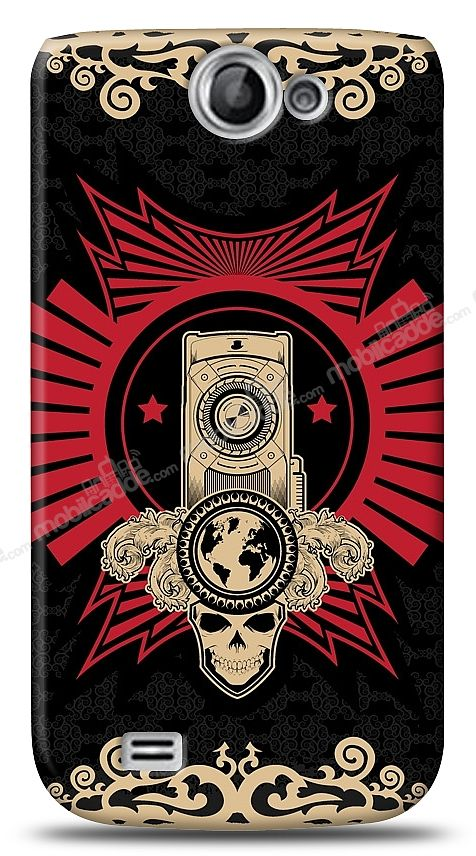 Samsung Galaxy W Skull Nation Kılıf