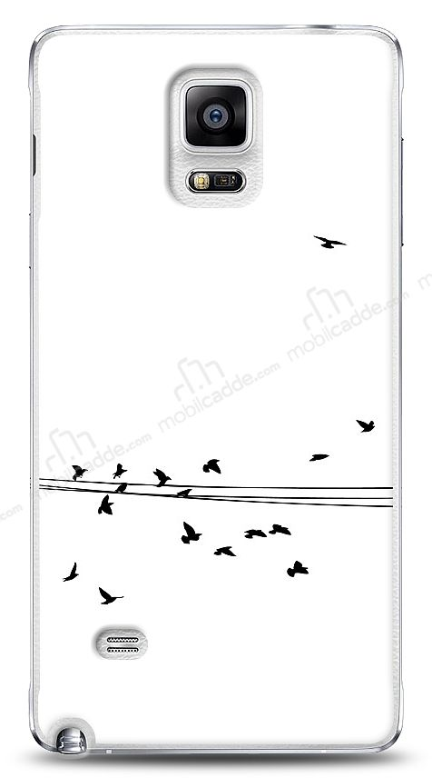Samsung N9100 Galaxy Note 4 Flying Birds Kılıf