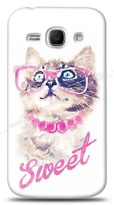 Samsung S7270 Galaxy Ace 3 Sweet Cat Kılıf