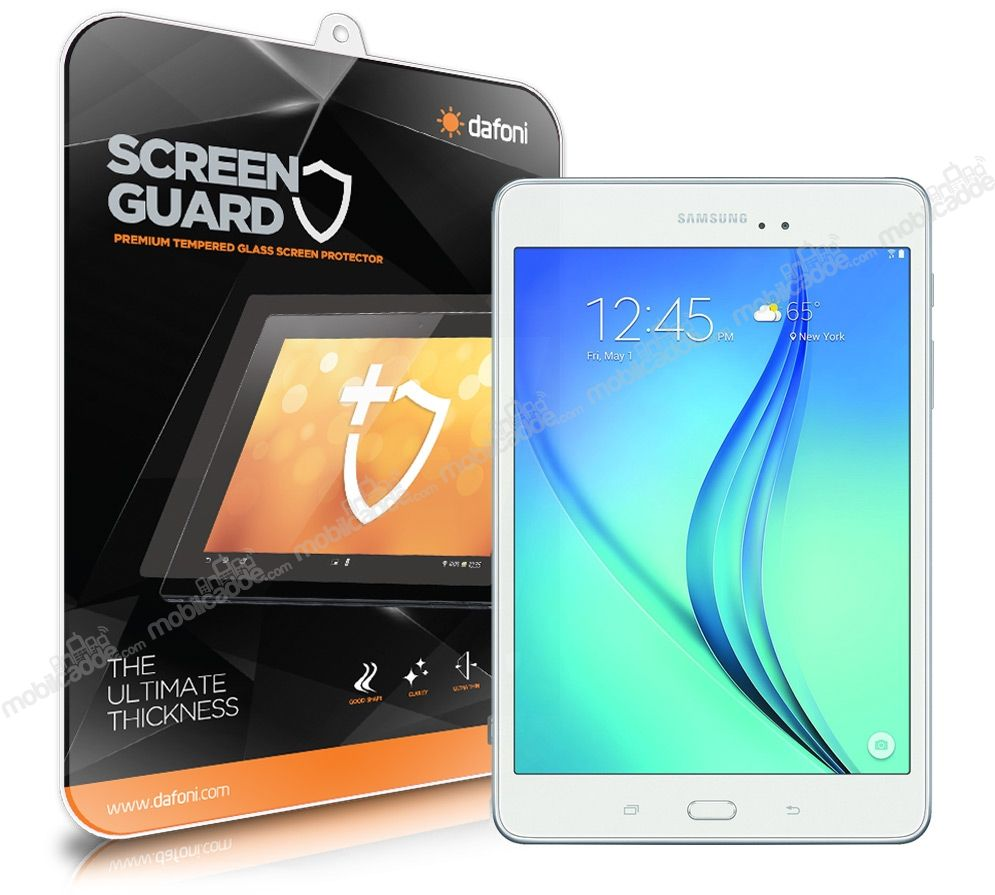 Dafoni Samsung T350 Galaxy Tab A 8.0 Tempered Glass Premium Tablet Cam Ekran Koruyucu