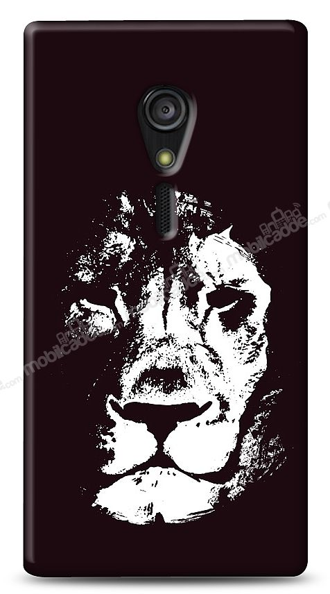 Sony Xperia ion Black Lion Kılıf