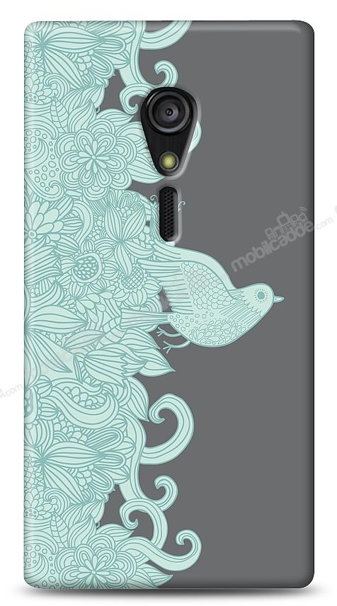 Sony Xperia ion Green Bird Kılıf