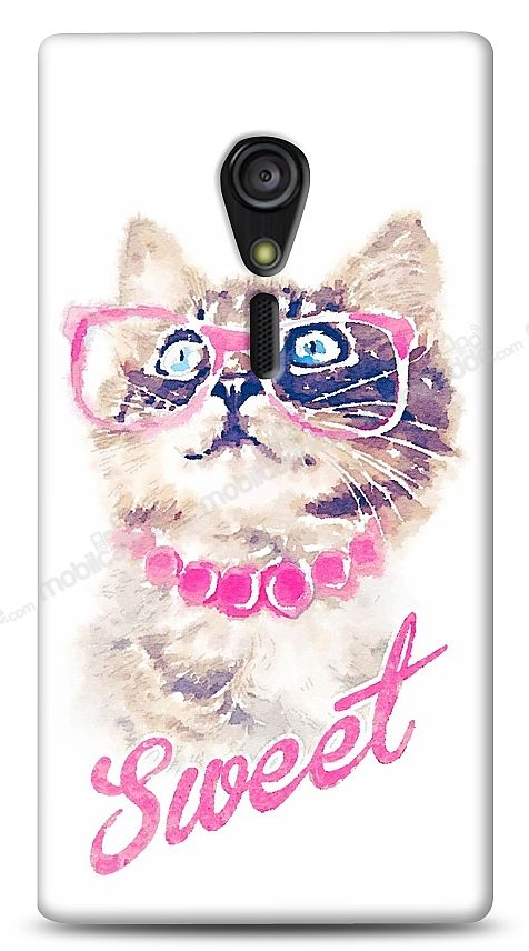 Sony Xperia ion LT28i Sweet Cat Kılıf