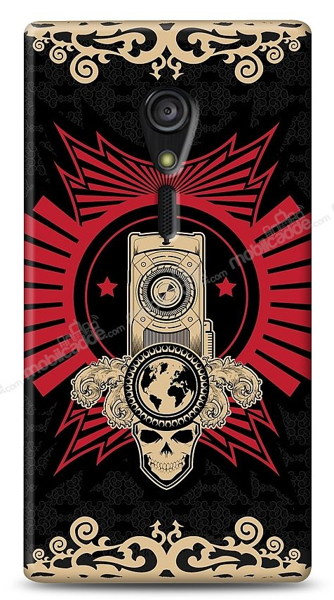 Sony Xperia ion Skull Nation Kılıf