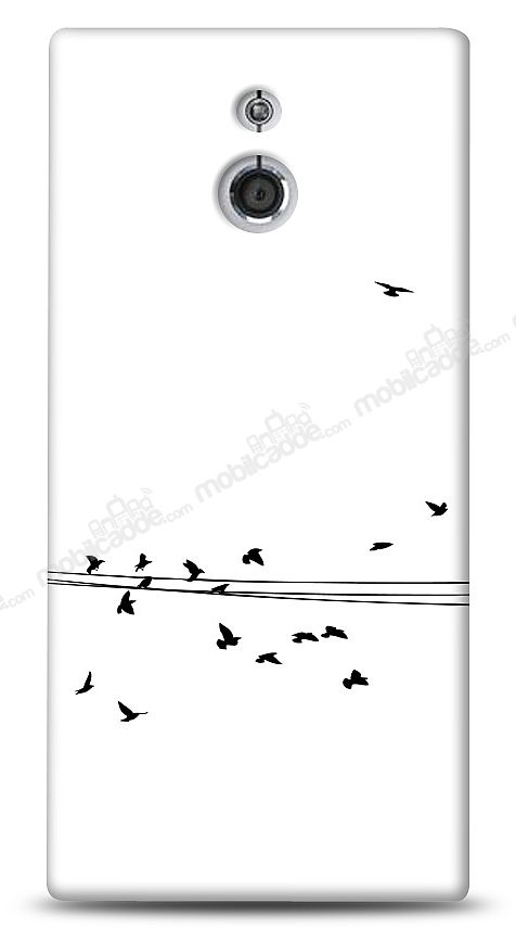 Sony Xperia P Flying Birds Kılıf