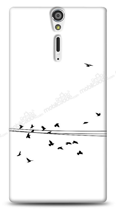 Sony Xperia S Flying Birds Kılıf