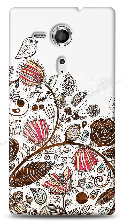 Sony Xperia SP Draw Bird Kılıf