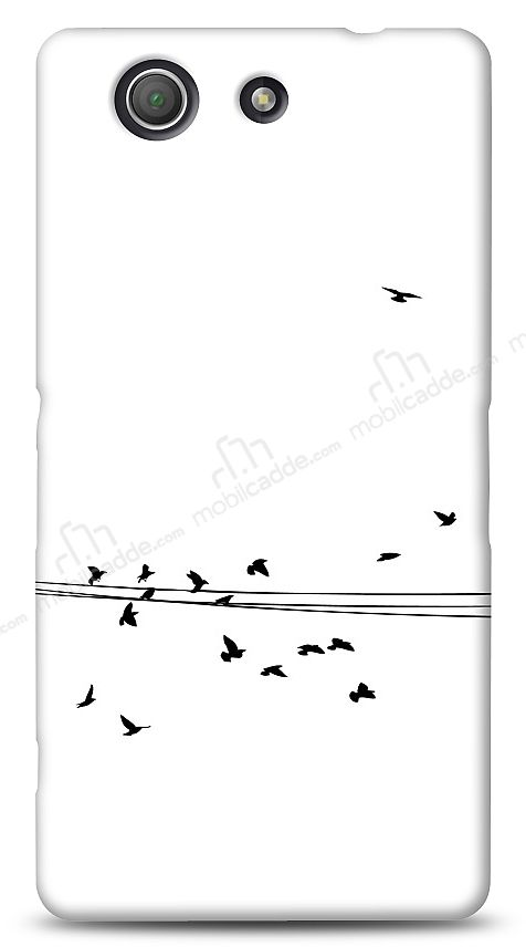 Sony Xperia Z3 Compact Flying Birds Kılıf