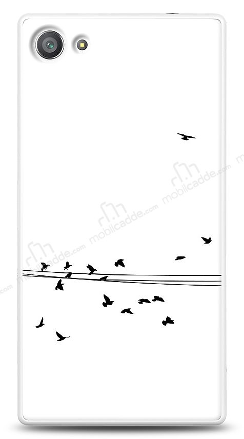 Sony Xperia Z5 Compact Flying Birds Kılıf