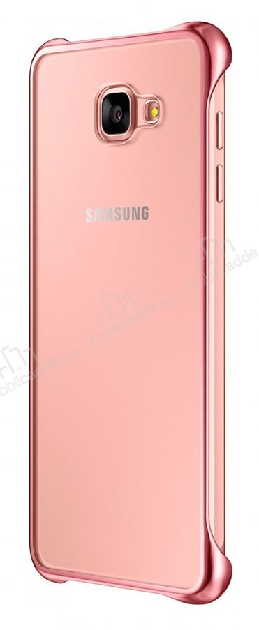 Eiroo Color Thin Samsung Galaxy A5 2016 Rose Gold Rubber Kılıf