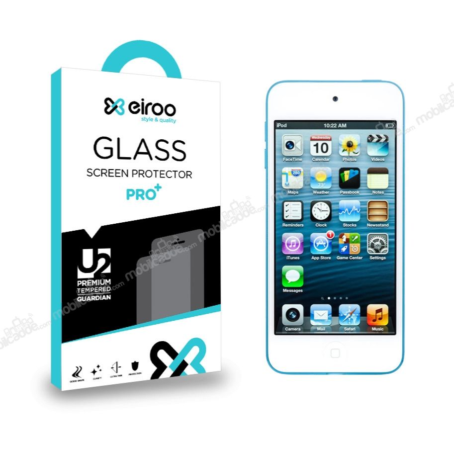 Eiroo iPod Touch / Touch 5 Tempered Glass Cam Ekran Koruyucu