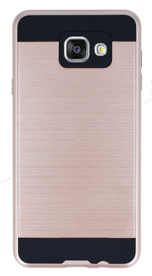 Eiroo Iron Shield Samsung Galaxy A7 2016 Ultra Koruma Rose Gold Kılıf